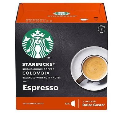 -Nescafe Dolce Gusto STARBUCKS Colombia Espresso12 Capsules
