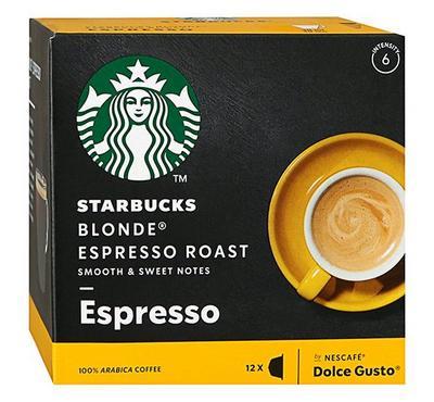 Nescafe Dolce Gusto STARBUCKS Blonde Espresso Roast Espresso 12 Capsules