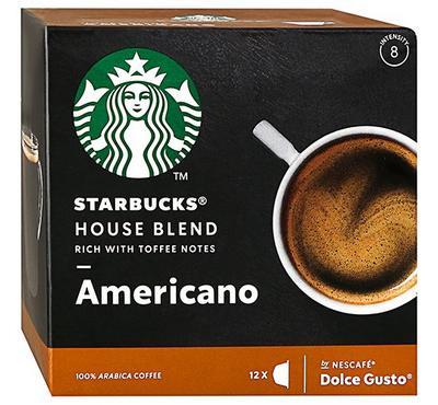Nescafe Dolce Gusto STARBUCKS Americano House Blend 12 Capsules