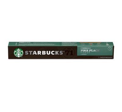 Nespresso STARBUCKS Medium Pike Place Roast Lungo 10 Capsules