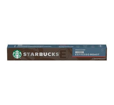Nespresso STARBUCKS Dark Roast Decaf Espresso Roast 10 Capsules.