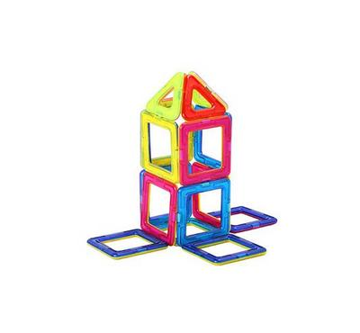 SaudiToys, 40 pieces of magnetic shapes with multiple sizes