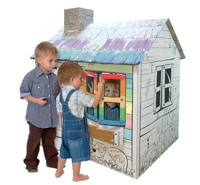 SaudiToys, Large Pasture Cardboard House