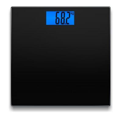 North Bayou NB, Digital Glass Bathroom Scale, 180KG Max, Black