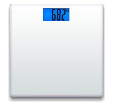 North Bayou NB, Digital Glass Bathroom Scale, 180KG Max, White.