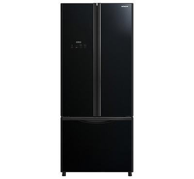 هيتاشي ثلاجة، الحجم الكلي 710 لتر، الحجم الصافي، 589 لتر، أسود