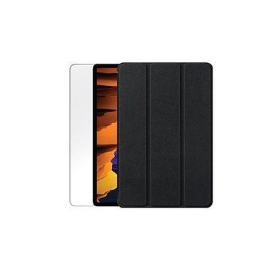 سمارت أي جارد، شاشة حماية لتاب جالكسي إس 7 fبلس مع حافظة، شفاف