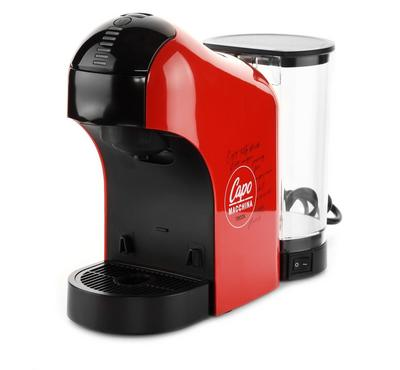 إل كابو توكا صانعة قهوة، 15 بار، 1450 واط، 1 لتر، احمر
