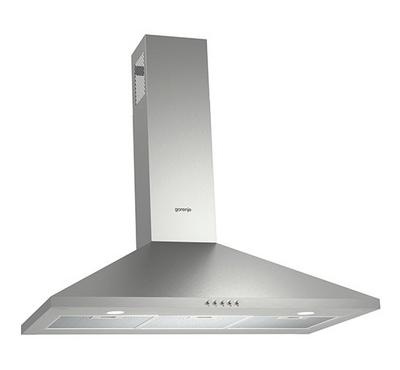 Gorenje 90cm Wall mounted Cooker hood, Stainless steel