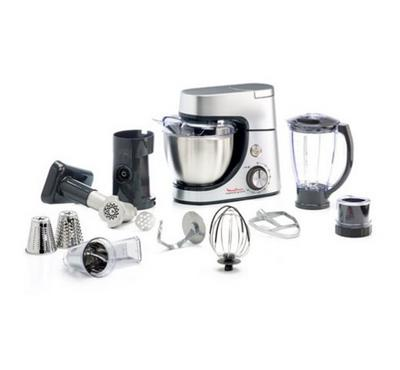 Moulinex Kitchen Machine With Cookware 9Pcs Set.