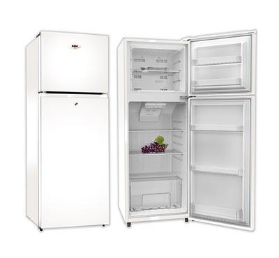 Zen 400.0L Fridge Top Mount Freezer,248.0L Net Capacity, No Frost White
