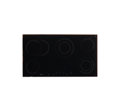 Candy 2200W Built-in Hob, 5 Burners, Touch Control, Black