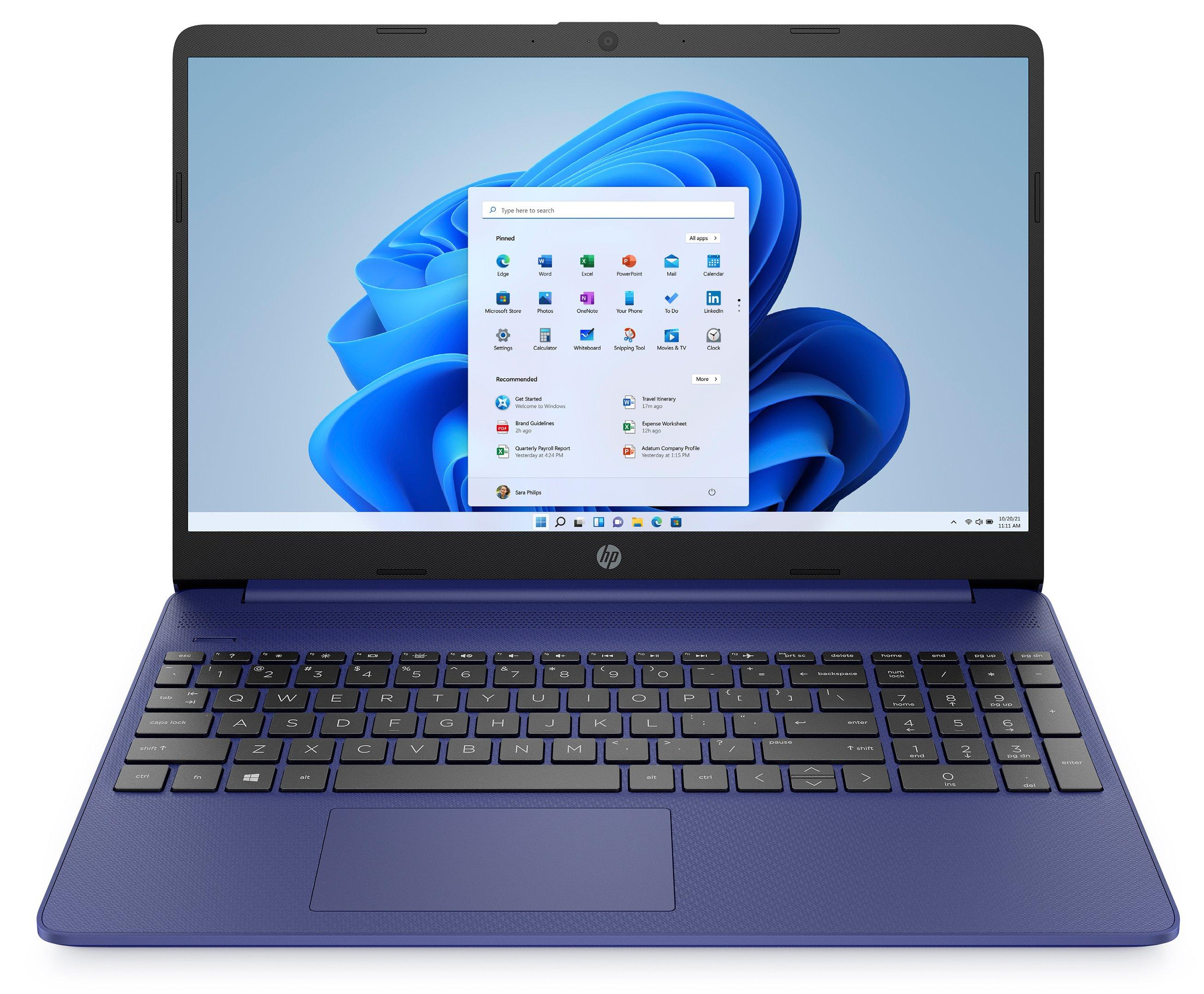 HP Laptop 15s, AMD Ryzen 5, 15.6 inch, 8GB, 256GB, Indigo Blue - eXtra Saudi