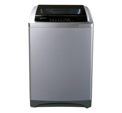 Hisense Top Load Washing Machine,18 KG, 8 Wash Programs, Silver