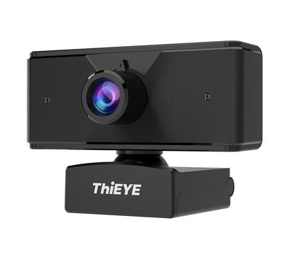 Thieye, 1080P Web Camera, 30FPS Full HD Video, Black