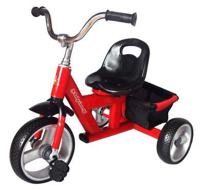 بيبي لوف، سيكل 3 عجلات، مع سلة كبيرة، أحمر
