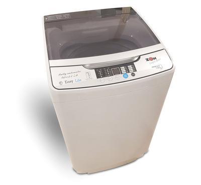 Zen Washing Machine Top Load With Pump,7.0KG, Steel Body, Silver