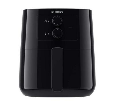 Philips Essential Airfryer, Rapid Air technology, 0.8Kg, 4.1L, Black.
