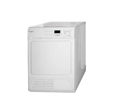 Supra Condenser Clothes Tumble Dryer, Digital Display, 8.0KG, 2500W, White