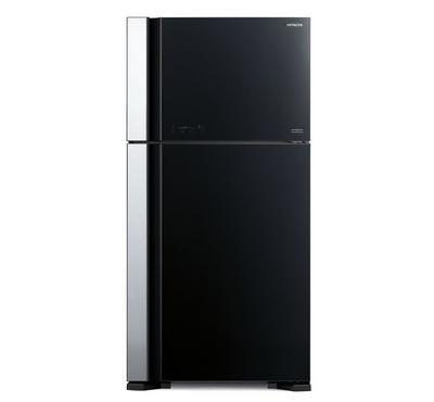 Hitachi Fridge Top Mount Freezer, Inverter Compressor,650.0L, Brilliant Black
