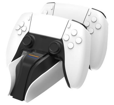 سنيك بايت، جهاز شحن ثنائي، بلاي ستيشن 5، أبيض