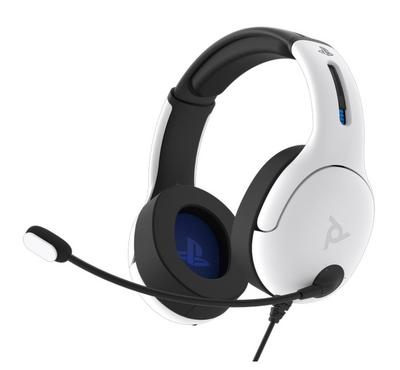 Venom, LVL40 Wired Stereo Headset for PS5, White