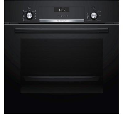 Bosch SERIE4 Built-In Electric Oven With Convection Digital , 60cm, 66.0L,Black