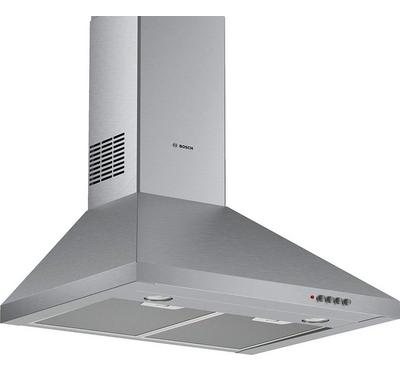 Bosch SERIE 2 Chimney Cooker Hood,60cm , 380m³/h 135W, Stainless Steel