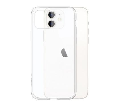 Smart iGUARD iPhone 12 Mini Premium Acrylic Backcover Case Clear White