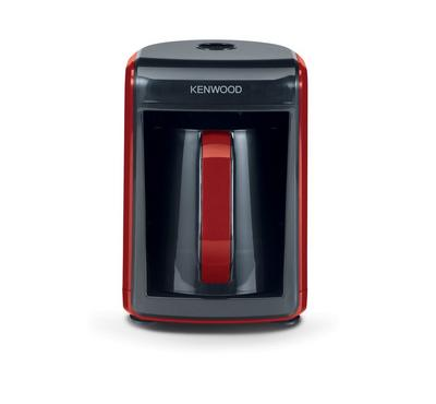 Kenwood Automatic Turkish Coffee Maker, 535W, 5 Cups, Red