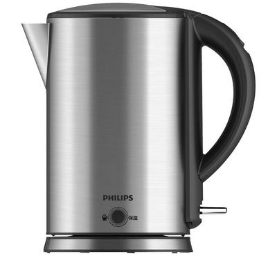 Philips Viva Collection 1.7l Electric Jug Kettle, 1800w ,Metallic Silver