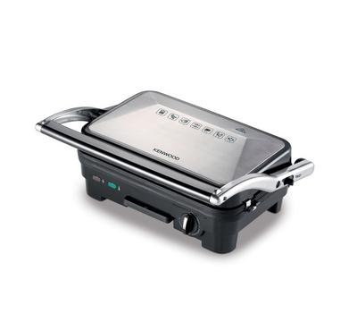 Kenwood  Electric Contact Grill Non-Stick Plates 1800W Black/Silver