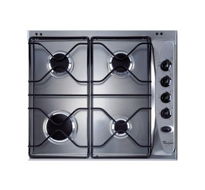 Whirlpool Built-in Gas Hob Stainless,60cm, Steel Inox
