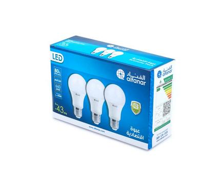 Alfanar, Led Bulb 6W Dl Promo Pack