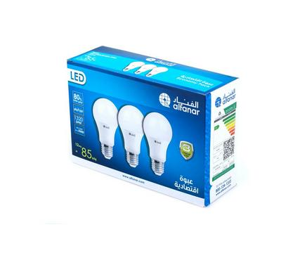 Alfanar, Led Bulb 12W Dl Promo Pack