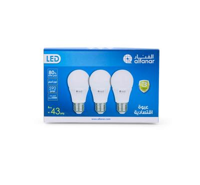 Alfanar, Led Bulb 6W WW Promo Pack