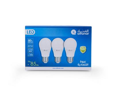 Alfanar, Led Bulb 12W WW Promo Pack
