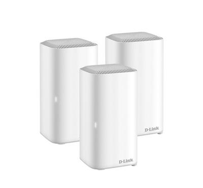 D-Link Covr Intelligent Wifi Router, System Router Pack of 3 units, White