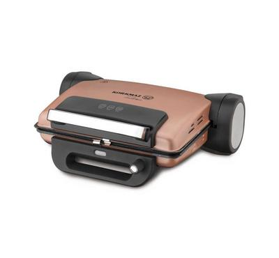 Korkmaz, Electric Contact Toaster Grill Granite Coating, 1800W, Rose Gold