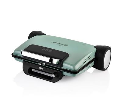 Korkmaz, Electric Contact Toaster Grill Granite Coating, 1800W, Turquoise
