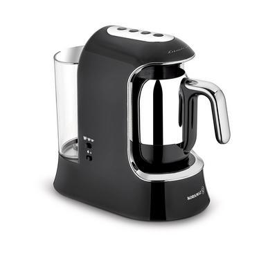 Korkmaz, AQUA ,1.2L, Turkish Coffee Machine Stainless Pot ,700W, Silver/Black