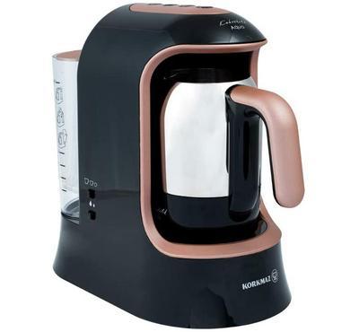 Korkmaz, AQUA ,1.2L, Turkish Coffee Machine Stainless Pot ,700W, Rose Gold/Black