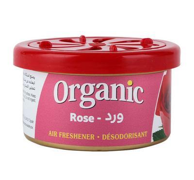 L&D, Organic Can Airfreshner for Car, Rose