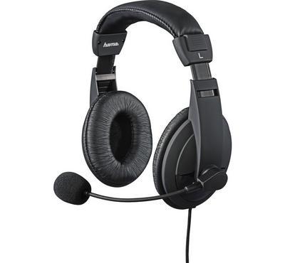 Hama, Gaming Headset Black + EXODUS 300 Wired PC Gaming Keyboard Bundled, Black