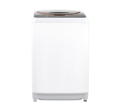Toshiba Topload Automatic Washer with Pump,15 kg, SDD Inverter Motor,WHITE/BLACK