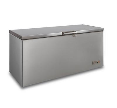 Simfer 459 L Chest Freezer, Triple Cooling Mode, Manual Defrost, Inox