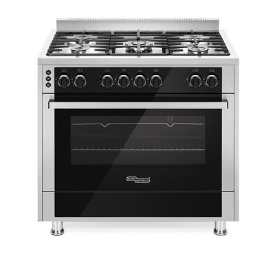 Super General 90 x 60 Gas Cooker, 5 Burners,Stainless Steel.