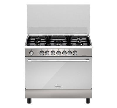 Super General 90 x 60 Gas Cooker, 5 Burners, Stainless Steel.
