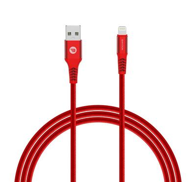 Baykron Cable USB To Lightning 1.2M MFI, Red