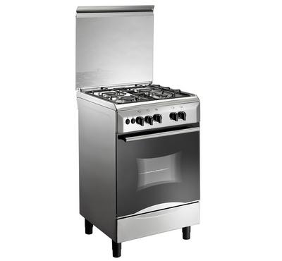 ClassPro Gas Cooker, 60X60, 4 Burners, Auto Ignition,  Full Safety, Stainless
